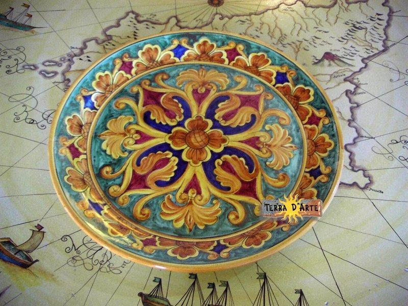 Piatti decorativi a parete terra d arte terra d 39 arte - Piatti decorativi ...
