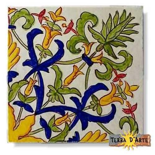 decoro siciliano in ceramica TD 250